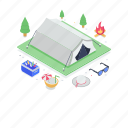 hut, marquee, chalet, canopy, summer camp, tent, camping icon