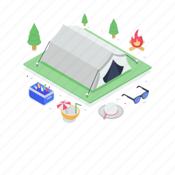 camping, canopy, chalet, hut, marquee, summer camp, tent