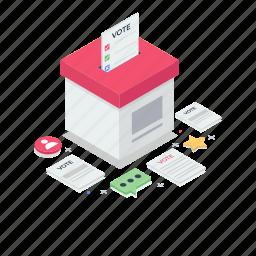 ballot box, complaint box, letter box, po box, suggestion box
