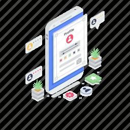 biodata, client profile, customer profile, user info, user profile
