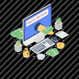asset, income, online earning, online money, revenue