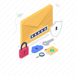 email protection, inbox, locked message, protected message, received message, received sms, secure email