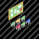 notice board, bulletin board, message board, ad board, information board icon