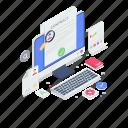 analytics, market performance, online data, online graph, performance analytics, search data icon
