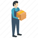 courier delivery, delivery boy, delivery man, freight forwarder, logistics delivery icon