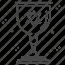 goblet, israel, israeli, jewish, jews, kiddush cup, sabbath icon
