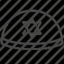 cap, jewish, jews, kippah, yarmulke icon