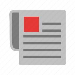 communication, connection, network, news, newspaper, print media, printed icon