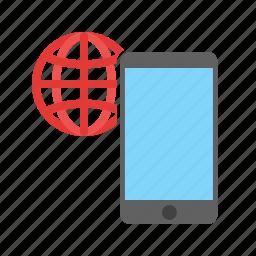 communications, connectivity, global, globe, network, satellite, technology icon