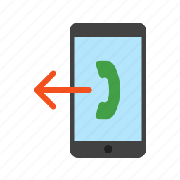 call, connection, message, outgoing, phone, technology, user icon