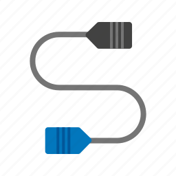 business, cable, connector, ethernet, phone, telephone, wire icon