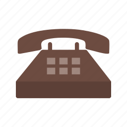 business, digital, display, lcd, office, phone, telephone icon