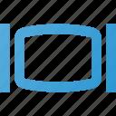display, plug, sign icon