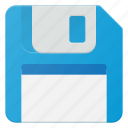 disc, floppy, memory, save, sign icon
