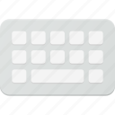 human, interface, keyboard, sign, type icon