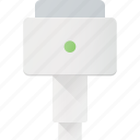 cable, mac, magsafe, plug, power icon