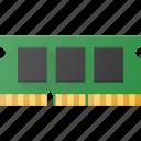 chip, memory, microchip, ram icon