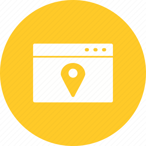 advertising, computer, local, marketing, media, search, social icon
