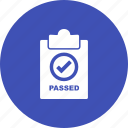 approved, business, label, service, sign, sticker, tag icon