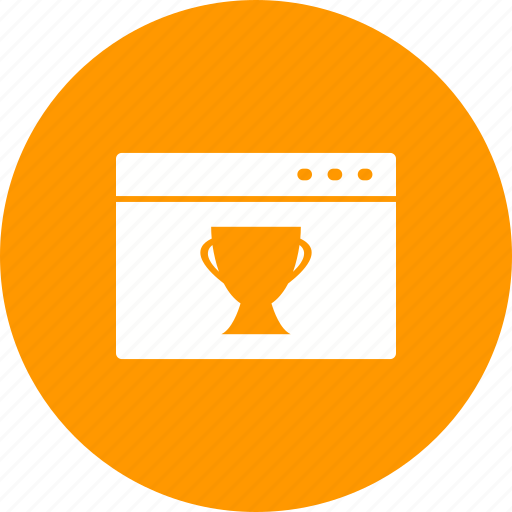 award, banner, business, prize, sign, star, web icon