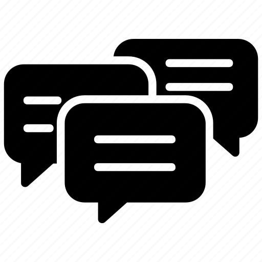 View Group Chat Icon Png Black Background