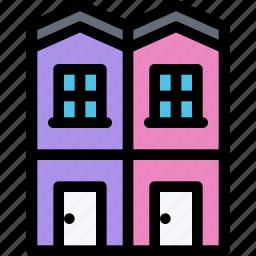 apartment, architecture, building, city, real estate, realtor icon