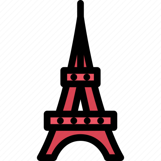 architecture, building, city, eiffel, real estate, realtor, tower icon