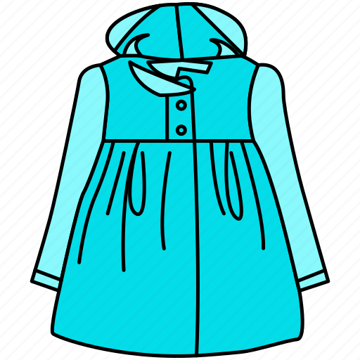 2, cloth, dress, female, gown, jacket, long jacket, male, tops, winter icon