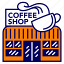 cafe, city, cityscape, coffee shop, indonesia, jakarta, landmark icon