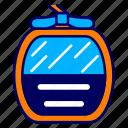cable car, city, cityscape, gondola, indonesia, jakarta, landmark icon