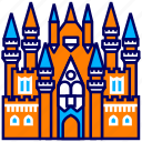 castle, city, cityscape, doll, indonesia, jakarta, landmark