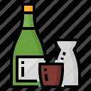 beverage, drink, japanese, restaurant, sake