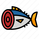 food, restaurant, sashimi, tuna icon