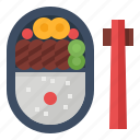 bento, food, japan, meal icon