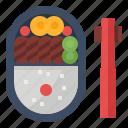 bento, food, japan, meal