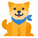 dog, japan, pet, shiba icon
