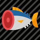 food, restaurant, sashimi, tuna icon
