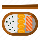 bento, food, japan, japaneses icon