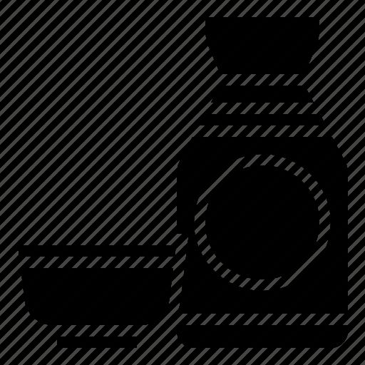 bottle, cup, japan, sake icon