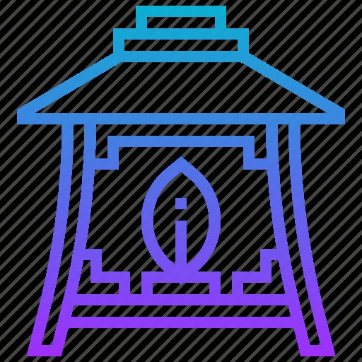 japan, japanese, lamp, light icon