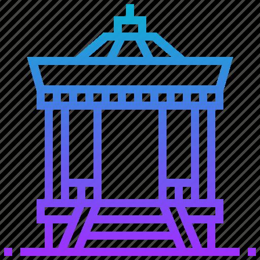 building, japan, japanese, landmark, pavilion, shrine icon
