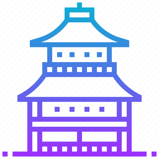building, japan, kinkakuji, landmark, temple icon