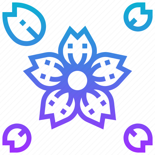 flower, japan, sakura icon