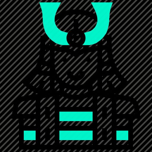 avatar, female, japan, man, samurai icon
