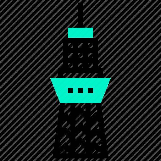 building, japan, landmark, skytree, tokyo, tower icon