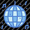ball, disco, entertainment, music, party icon