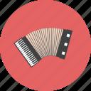 accordian, blues, classical, intrumental, jazz, music, retro icon