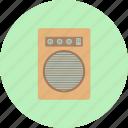 amplifier, classical, intrumental, loudspeaker, music, retro, subwoofer icon