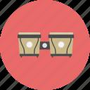bongo, classical, drum, intrumental, jazz, music, retro icon