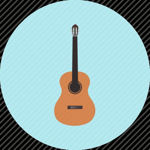 classical, folk, guitar, intrumental, music, retro, string icon